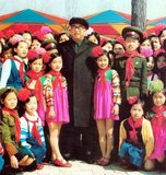 Kim Il-sung (15 April 1912 – 8 July 1994) was a Korean communist politician who ruled North Korea, officially the Democratic People's Republic of Korea, from its establishment in 1948 until his death in 1994. He held the posts of Prime Minister from 1948 to 1972 and President from 1972 to his death. He was also the leader of the Workers' Party of Korea from 1949 to 1994 (titled as chairman from 1949 to 1966 and as general secretary after 1966).<br/><br/>  His tenure as leader of North Korea has often been described as autocratic, and he established an all-pervasive cult of personality. From the mid-1960s, he promoted his self-developed Juche variant of communist national organization. He outlived Joseph Stalin by four decades, Mao Zedong by two, and remained in power during the terms of office of six South Korean presidents, ten U.S. presidents, and twenty-one Japanese prime ministers.<br/><br/>  Following his death in 1994, he was succeeded by his son Kim Jong-il, who in turn was succeeded by his son Kim Jong-un. North Korea officially refers to Kim Il-sung as the 'Great Leader' (Suryong in Korean 수령) and he is designated in the constitution as the country's 'Eternal President'.